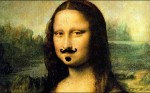 Mona Lisa Mustached