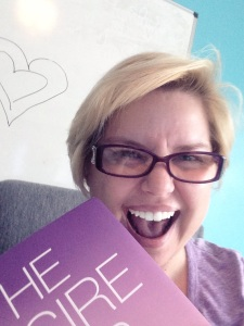 Me FanGirl-ing Danielle LaPorte's Desire Map - July 2014